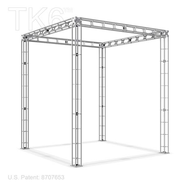 BELFAST-10ft x 10ft Box Truss Booth